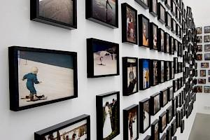 Vue de l'installation au CCS / Photo: Marc Domage — © Centre culturel suisse. Paris