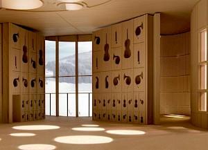 Projet «Klanghaus Toggenburg» de Meili & Peter / Photo: Heinrich Helfenstein — © Centre culturel suisse. Paris
