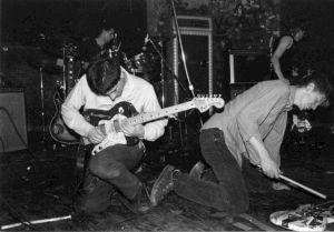 <p>Catherine Ceresole:  Sonic Youth, CBGB, New York, 14.09.1983</p>