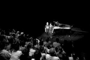 <p>Yaron Herman et Harold Lopez-Nussa / Photo: Eduardo Serafim</p>