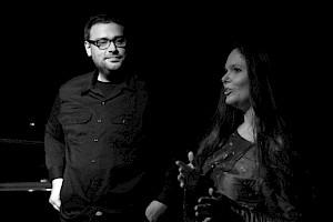 Stéphanie Aloysia-Moretti et Arnaud Robert / Photo: Eduardo Serafim. — © Centre culturel suisse. Paris