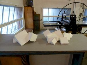 <p>Vincent Lamouroux, Cube(s) 06 et Cube(s).07, 2010 / Photo: CCS</p>