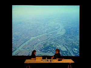 Conférence de Dominique Jakob et Brendan MacFarlane / Photo: CCS — © Centre culturel suisse. Paris