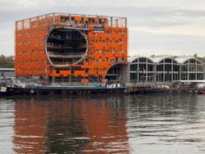 <p>Bâtiment Les Salines, Pavillons Quai Rambaud (Lyon), vue du chantier en cours / Photo: Nicolas Borel</p>