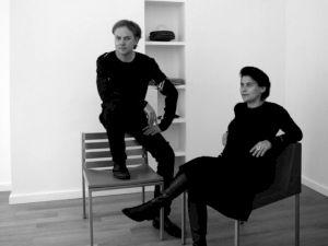 <p>Les architectes Brendan MacFarlane et Dominique Jakob / Photo: D.R.</p>