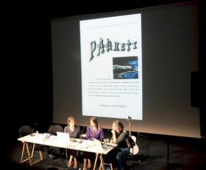 <p>Jacqueline Burckhardt, Bice Curiger et Stephan Eicher / Photo: Eduardo Serafim</p>