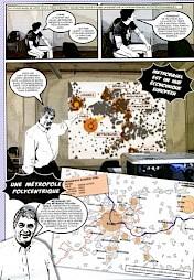 Image tirée de la bande dessinée MetroBasel publiée par ETH Studio Basel, 2009 / D.R. — © Centre culturel suisse. Paris