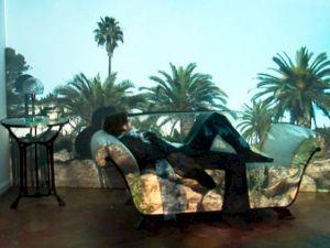 <p>Silvie Defraoui, Copie conforme d'un instant unique, 2007 (vidéo) / D.R.</p>