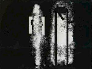 <p>Jean Otth, La fiancée clonée, dessin numérique, 1987 / D.R.</p>