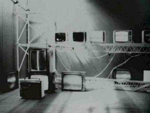 <p>Jean Otth, Abécédaire TV, installation vidéo, 1973 / D.R.</p>