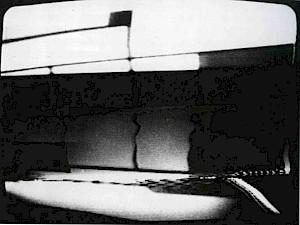 Jean Otth, Hommage à Mondrian, vidéo 8', 1972 / D.R. — © Centre culturel suisse. Paris