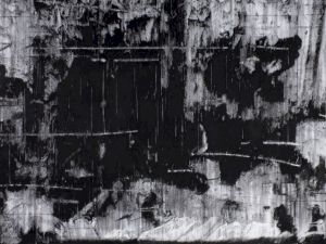 "<p>Alain Huck, ""Janus, Janus!""(2009) fusain / papier, 246 x 368cm / D.R.</p>"