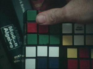 <p>Michele Emmer, Ars Combinatoria, 1986, videostill</p>