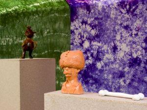 <p>Vue de l'exposition (détail) / Photo: Marc Domage</p>
