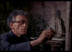 "Image extraite de ""Alberto Giacometti"", Ernst Scheidegger / © D.R."