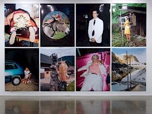 """Lukas Wassman, """"A certain je ne sais quoi"""", vue de l'exposition / Photo: Marc Domage — © Centre culturel suisse. Paris"""
