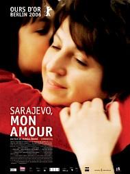 """""""Sarajevo, mon amour"""", affiche du film — © Centre culturel suisse. Paris"""