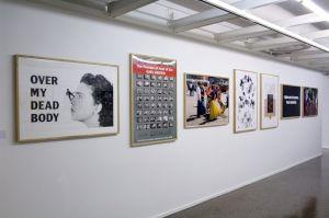 """<p>""""L'Europe en devenir"""" (partie II), vue d'exposition / Photo: Marc Domage</p>"""