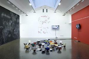 """""""L'Europe en devenir"""" (partie II), vue d'exposition / Photo: Marc Domage — © Centre culturel suisse. Paris"""