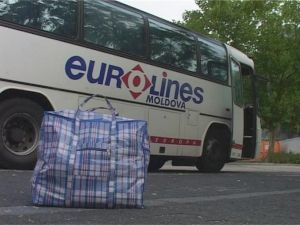 "<p>PAVEL BRAILA ""Eurolines Catering or Homesick Cuisine"" / Captation de vidéo, 2006</p>"