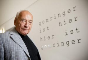 <p>Eugen Gomringer / Photo: D.R.</p> — © Centre culturel suisse. Paris