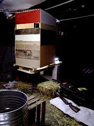 """""""Inside"""", performance/installation (45'), Cave 12, Genève 2004 / Photo: D.R. — © Centre culturel suisse. Paris"""