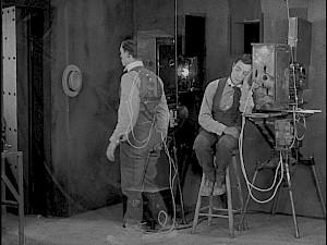 """Buster Keaton, """"Sherlock Jr."""", 1924 / Capture vidéo — © Centre culturel suisse. Paris"""