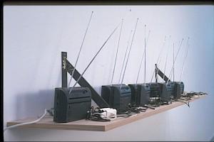 """""""Le monde"""" (détail) 2000-2001 / Photo: Marc Domage — © Centre culturel suisse. Paris"""