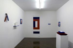 """<p>Ian Anüll, """"Aller/Retour"""", vue d'exposition / Photo: Marc Domage</p>"""