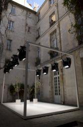 """<p>""""Printemps continu"""", dans la cour du CCS / Photo: Marc Domage / Tutti</p> — © Centre culturel suisse. Paris"""