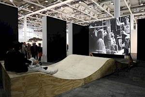 "Frederic Moser & Philippe Schwinger, ""Capitulation Project"" (Art 41 Basel) / Photo : D.R. — © Centre culturel suisse. Paris"