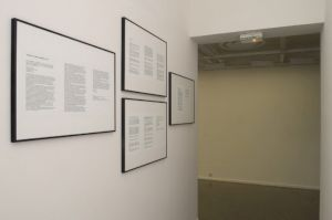 "<p>""Guantanamo initiative"", vue de l'exposition / Photo: D.R.</p>"