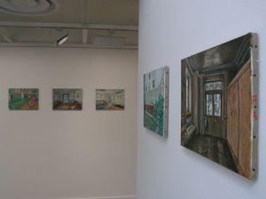 <p>Jean-Frédéric Schnyder - Vue de l'exposition / Photo: D.R.</p>