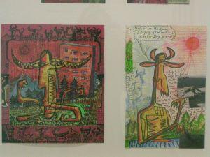 <p>Jacques Chessex - Vue de l'exposition / Photo: D.R.</p>