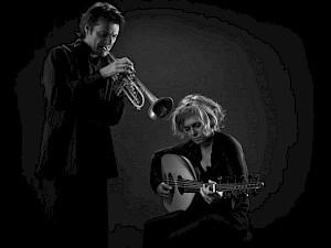 Kamilya Jubran & Werner Hasler / Photo: D.R. — © Centre culturel suisse. Paris