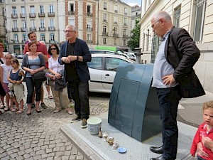 Dector & Dupuy en visite à Rennes / Photo: D.R. — © Centre culturel suisse. Paris