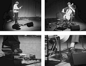 Luigi Archetti & Bo Wiget sur scène / Photo: D.R. — © Centre culturel suisse. Paris