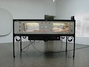 """Yann Marussich, """"Autoportrait dans une fourmilière"""" dans le carde de """"Comment rester zen"""" / Photo: D.R. — © Centre culturel suisse. Paris"""