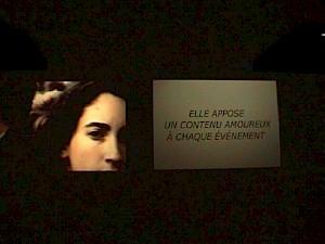 """Catherine Gfeller, """"Plusieurs versions d'elle"""" (vue d'exposition) / Photo: D.R. — © Centre culturel suisse. Paris"""