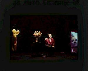 """Denis Maillefer, """"Je suis le mari de ***"""" / Photo: Pascal Gravat — © Centre culturel suisse. Paris"""