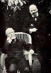 Flournoy et William James (droite) / Photo: D.R. — © Centre culturel suisse. Paris