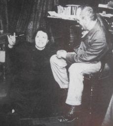 <p>La médium Elise Müller et le médecin philosophe Théodore Flournoy. / Photo: D.R.</p>
