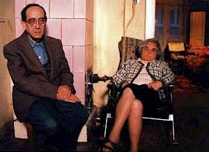 """Volker Koepp, """"Herr Zwilling und Frau Zuckermann"""" / Capture vidéo © Volker Koepp"""