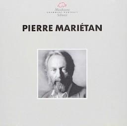 Pierre Mariétan / Pochette de disque — © Centre culturel suisse. Paris