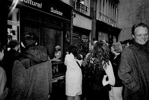 Performance de Chantal Michel / Photo: D.R. — © Centre culturel suisse. Paris