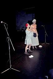 """""""Qui est là"""", carte blanche à Célia Houdart, performance de Oskar Gomez-Mata / Photo: D.R. — © Centre culturel suisse. Paris"""