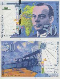 <p>Billet de banque français, 50 francs / Roger Pfund</p>