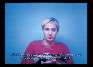 """Renée Green, """"Some Chance Operation"""" / Capture vidéo — © Centre culturel suisse. Paris"""