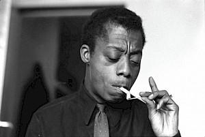 James Baldwin, circa 1960 / Photo: © 2006 Mark B. Anstending