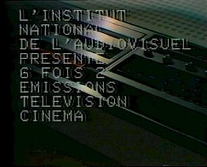 """""""Six fois deux / Sur et sous la communication"""", Godard et Miéville, 1976 / Capture vidéo — © Centre culturel suisse. Paris"""
